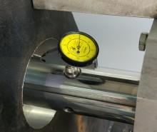 Индикаторная стойка для прецизионного позиционирования штанги