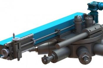 Мобильный станок для обработки фланцев